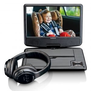 Lenco DVP-947 Portable DVD speler Zwart