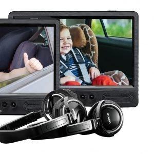 Lenco DVP-1045 Portable DVD speler Zwart