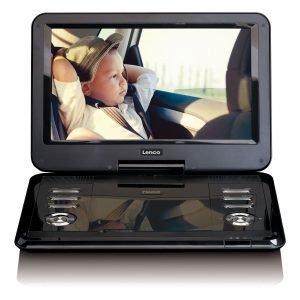Lenco DVP-1210 Portable DVD speler Zwart