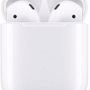 Apple AirPods 2 met draadloze oplaadcase Oordopjes Wit