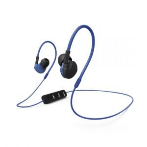 Hama Hoofdtelefoon Clip-on active BT Oordopjes Blauw