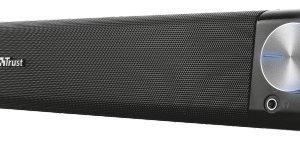 Trust Asto Sound Bar PC Speaker PC speaker Zwart