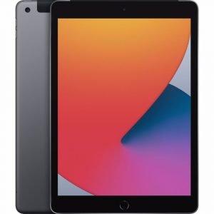 Apple iPad (2020) 10.2 32GB WiFi + 4G Tablet Grijs